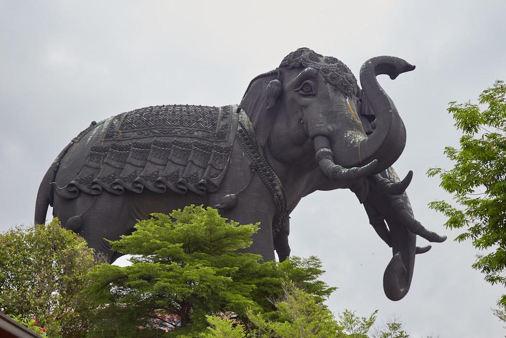 Erawan Museum Elephants