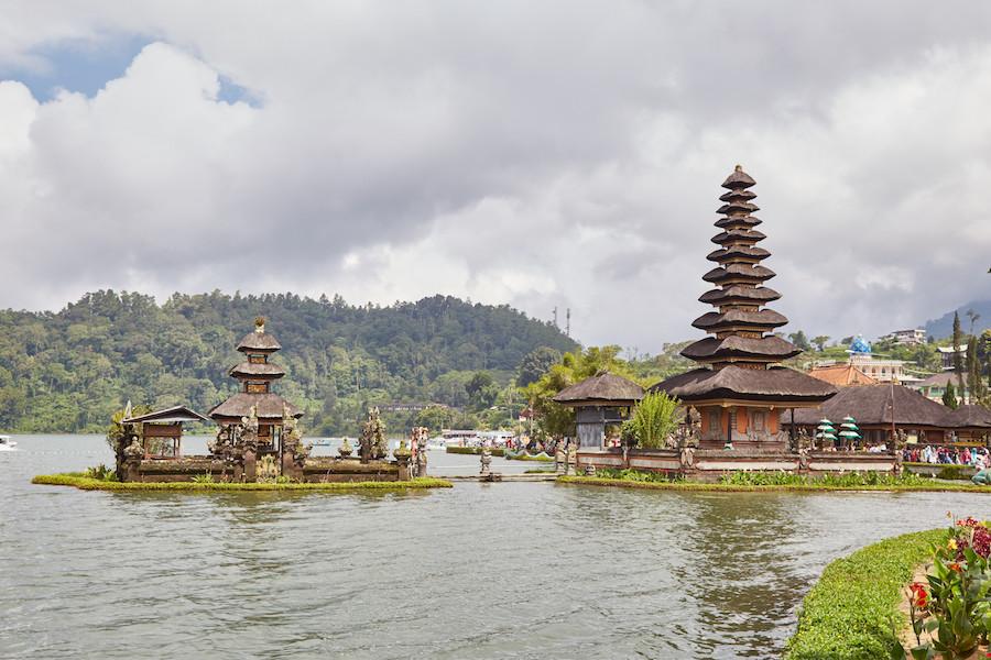 Pura Ulun Dana Bratan Lake Bali