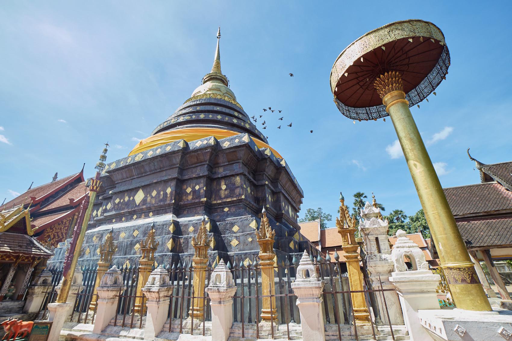 Lampang Luang Chedi Wide