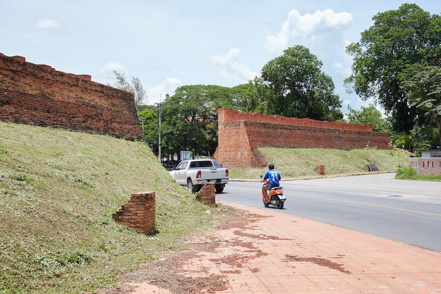 Lampang Old Wall