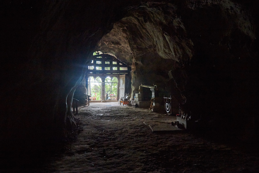 Tham Theung Entrance