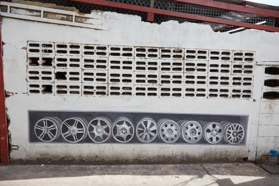 Bangkok Chinatown Street Art