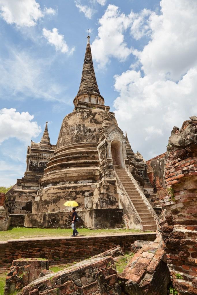 Wat Phra Si Sanphet Vertical