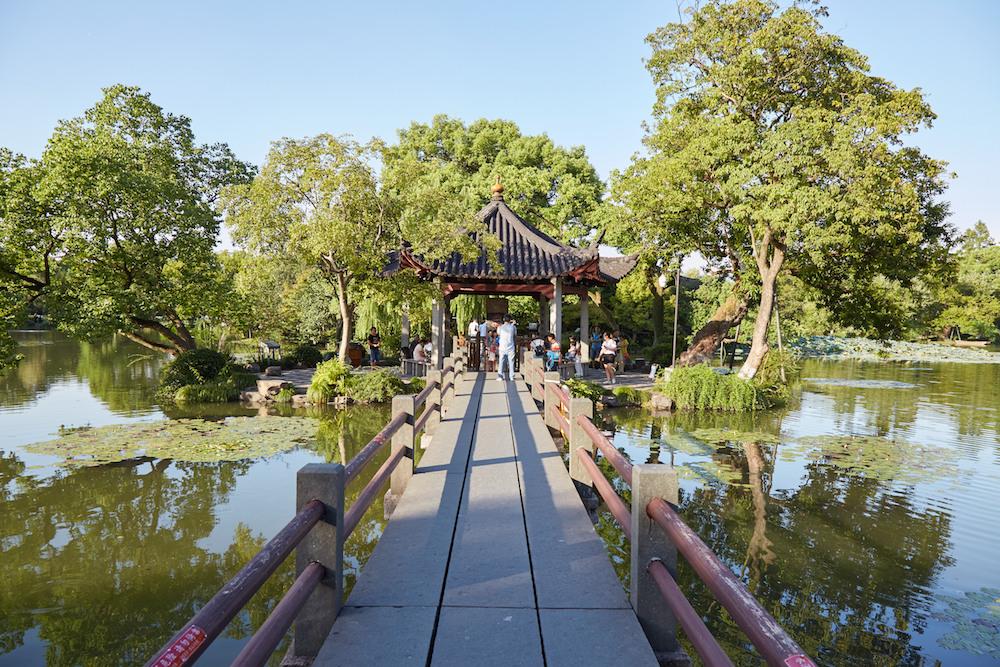 Three Pools Bridge Hangzhou