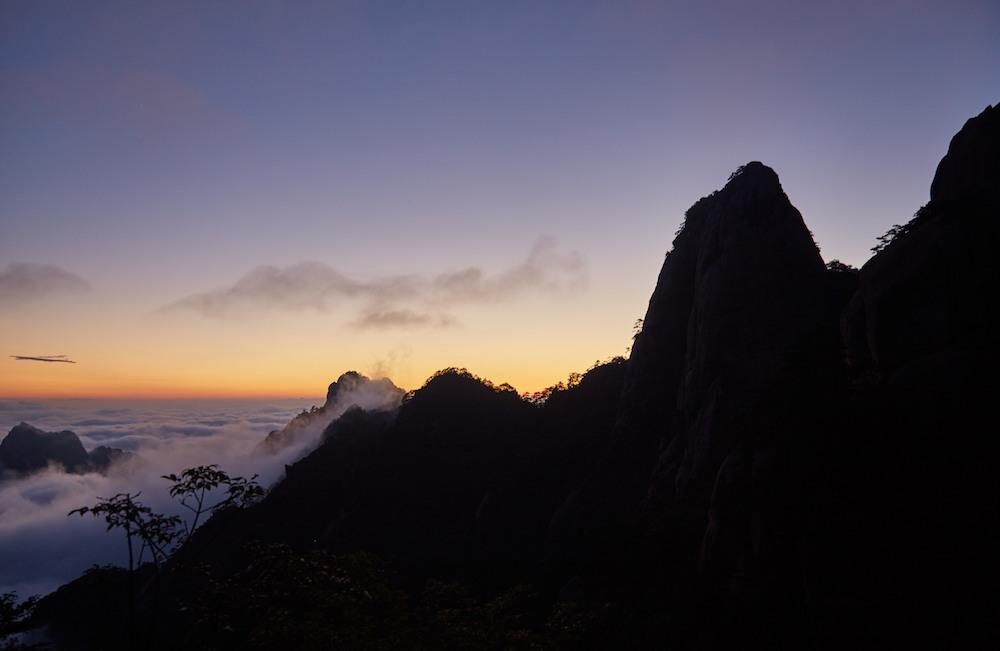 Ao-Yu Peak Sunset