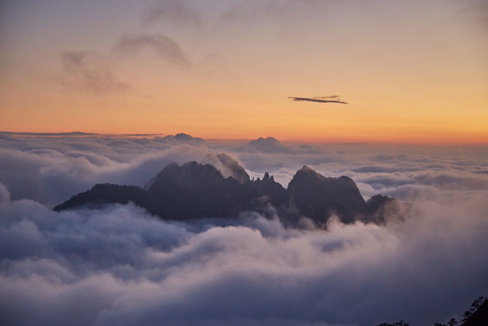 Huangshan Mountain Island