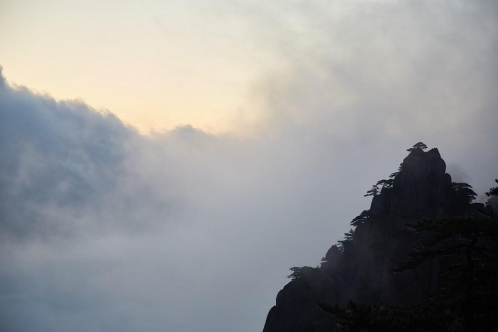 Huangshan Cloudy Sunrise
