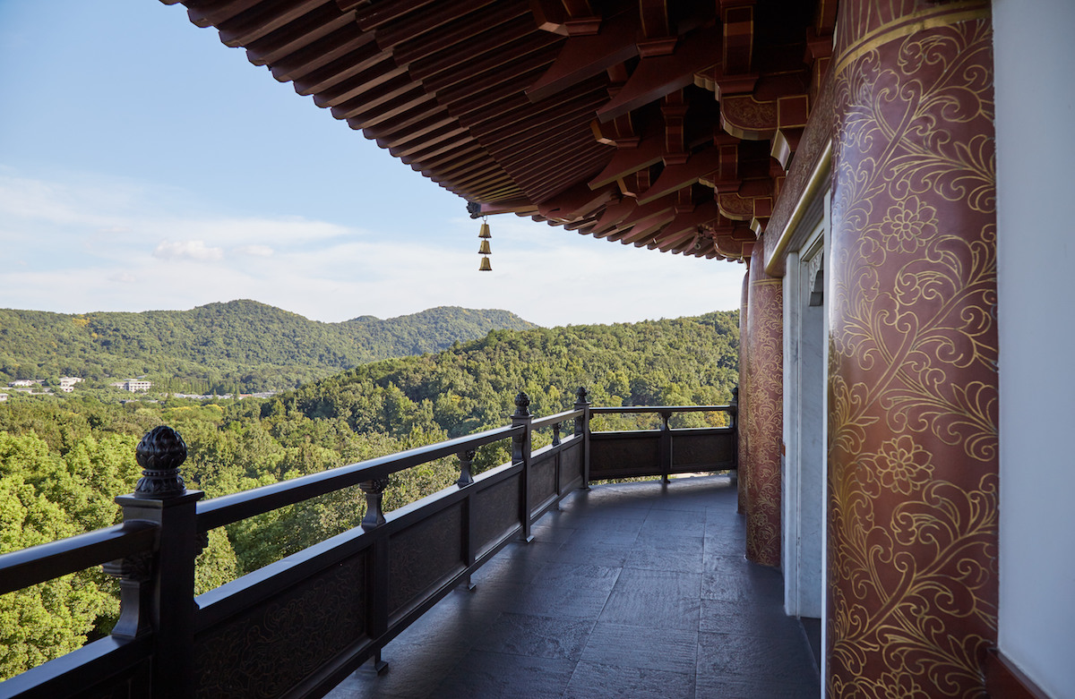 Leifing Pagoda View
