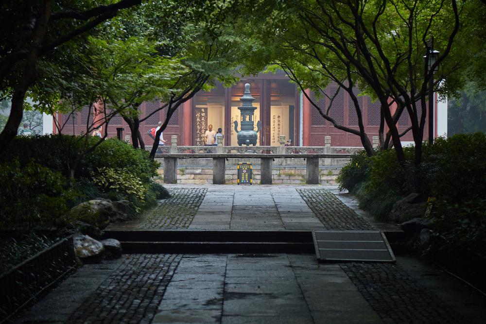 Yue Fei Tomb Outside