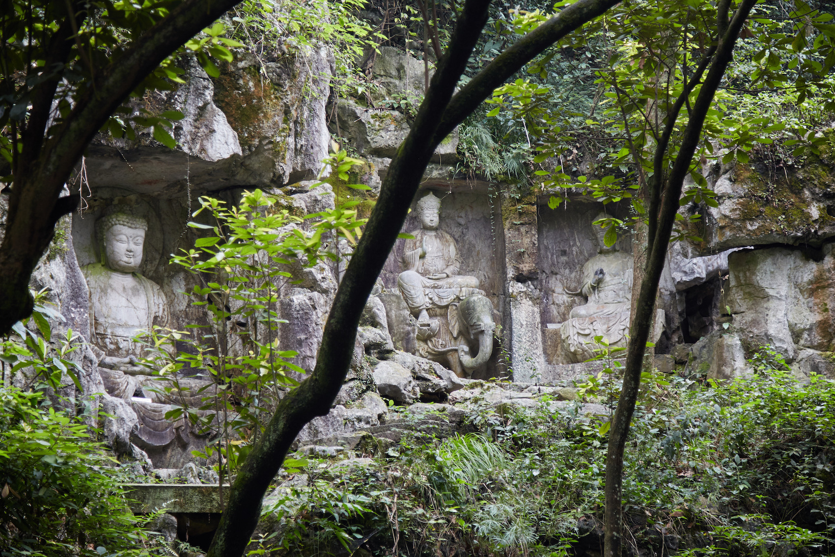 Fei Lai Peak Buddhas