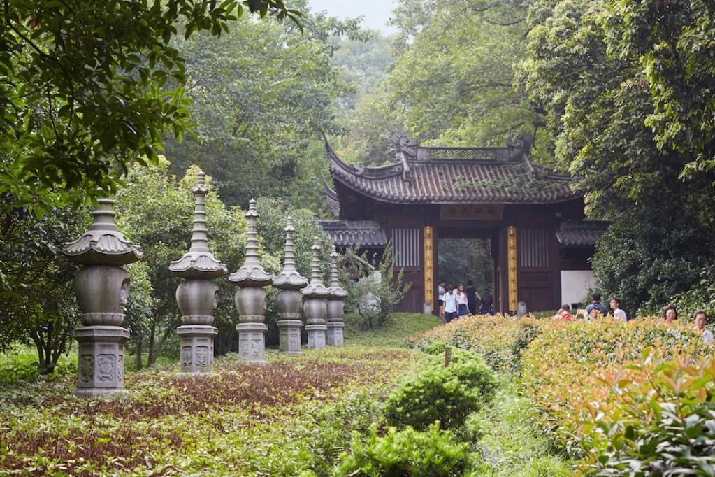 Yongfu Monastery Entrance