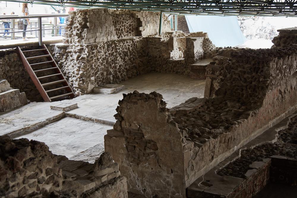 Casa de las Aguilas Templo Mayor