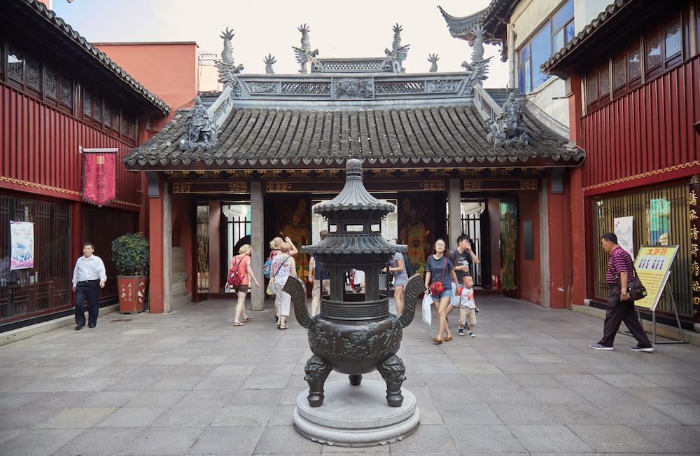 City God Temple Shanghai