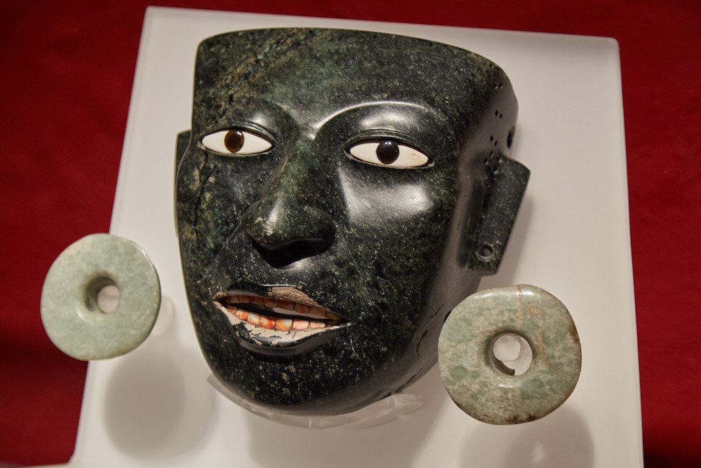Teotihuacan Jade Mask