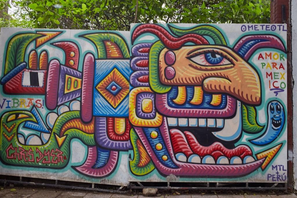 Chris Dyer Mural Condesa