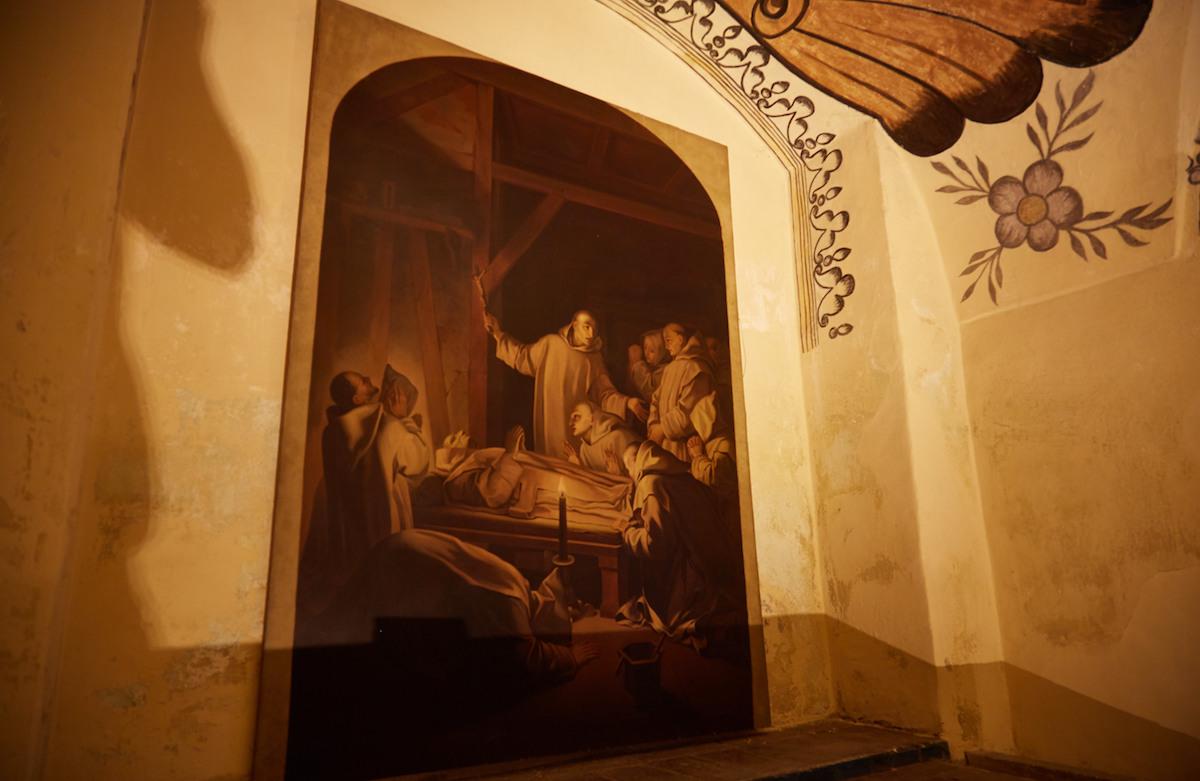 Museo de El Carmen crypt painting