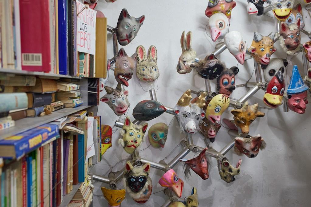 Museo del Juguete Antiguo Masks