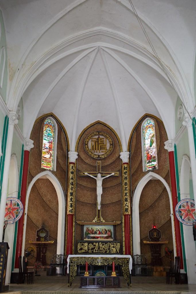 Cha Tham Church Cholon Saigon