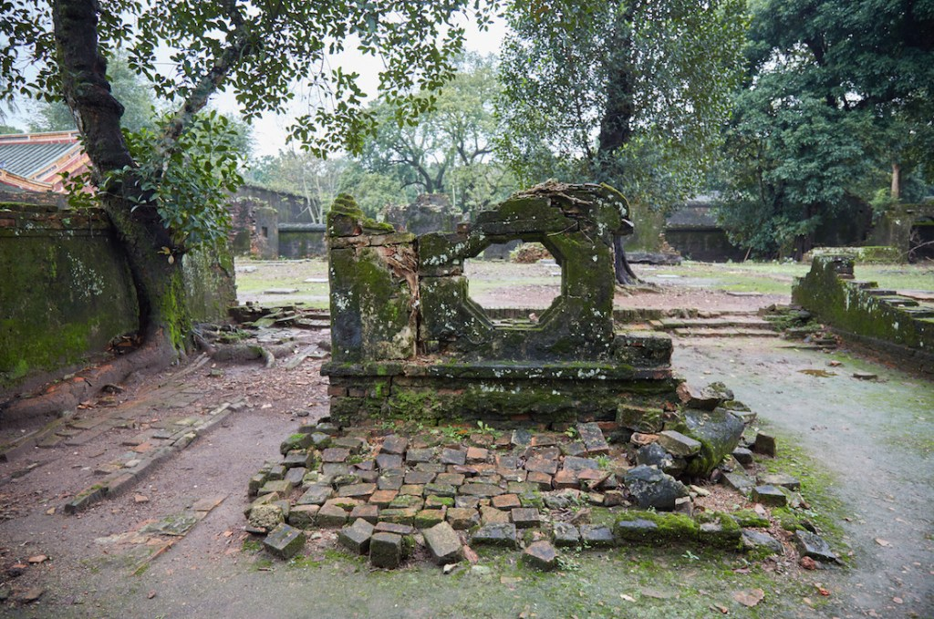Tu Duc Tomb Courtyard