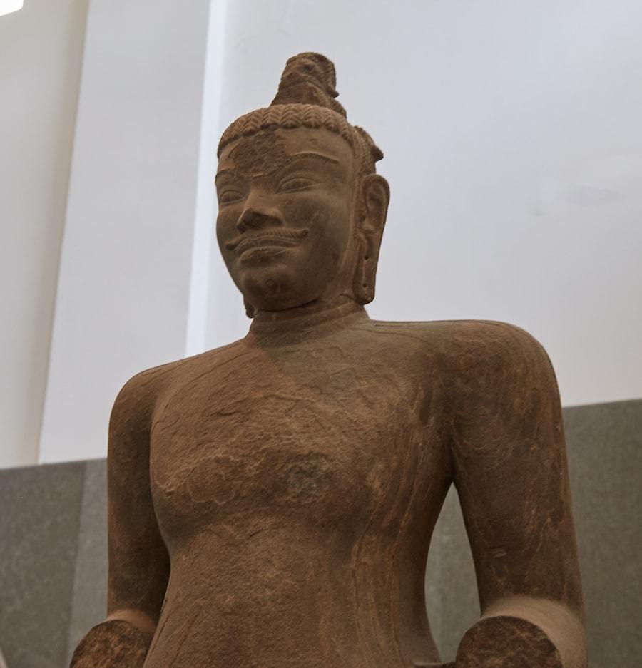 C1 Shiva Statue Da Nang Cham Sculpture Museum