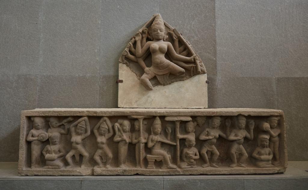 E4 Durga Cham Sculpture Museum Da Nang