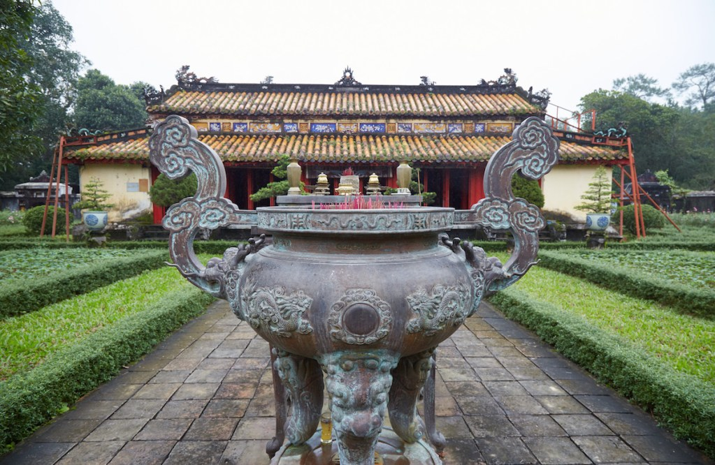 Gia Long Tomb Garden Urn