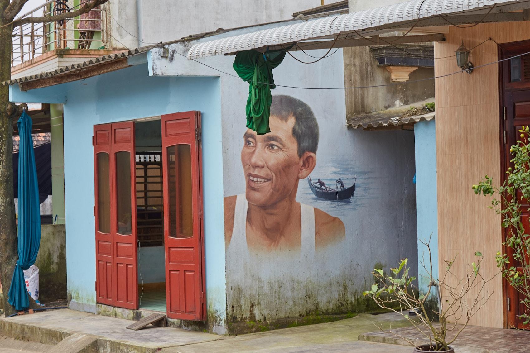 Tam Thanh Mural Village Vietnam Korea
