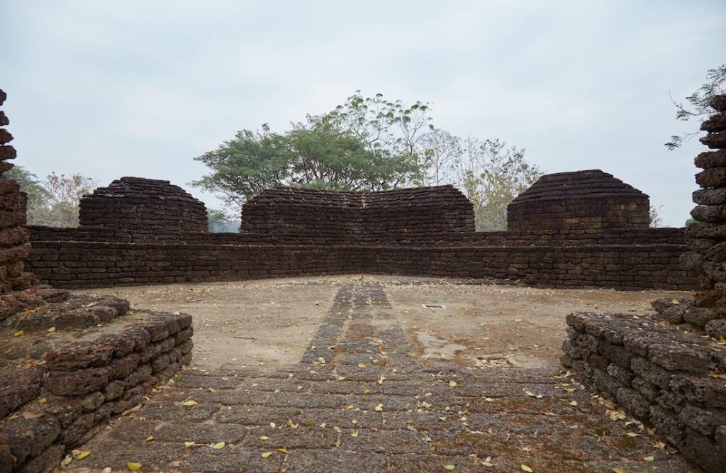 Kamphaeng Phet Fortress Wall