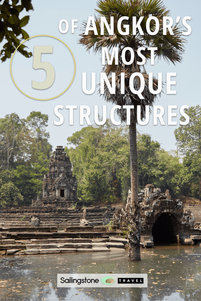 5 of Angkor's Most Unique Structures