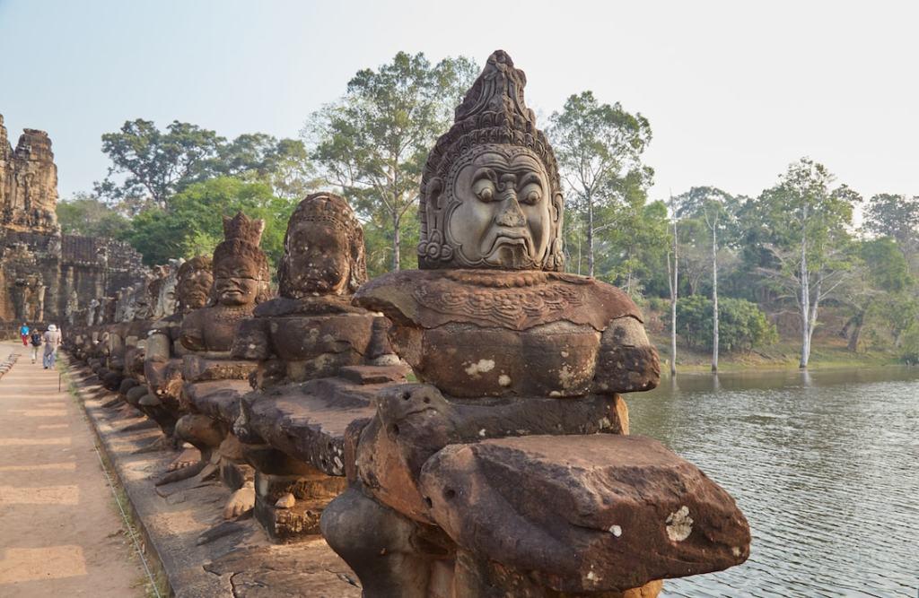 Churning of the Ocean of Milk Angkor