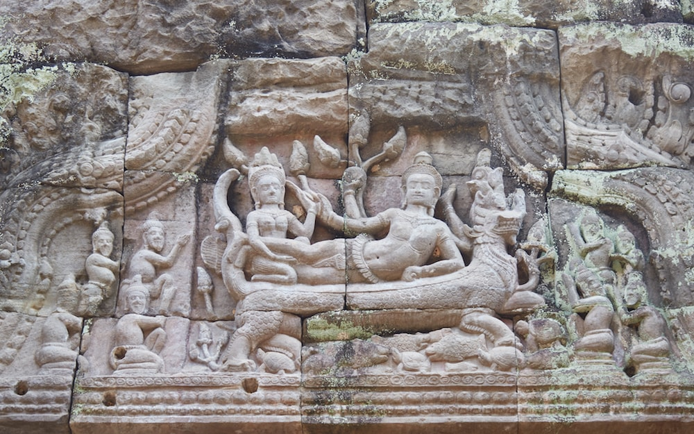 Vishnu on Ananta