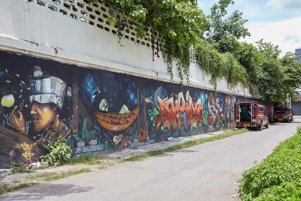 Chiang Mai Women's Prison Street Art