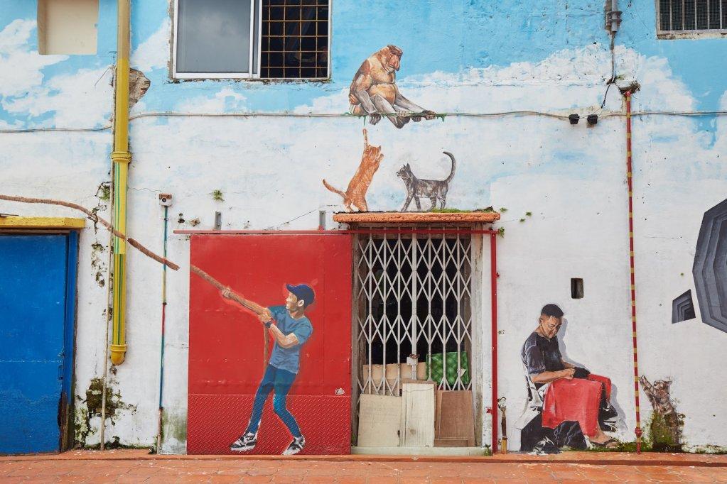Kuching Orangutan Murals