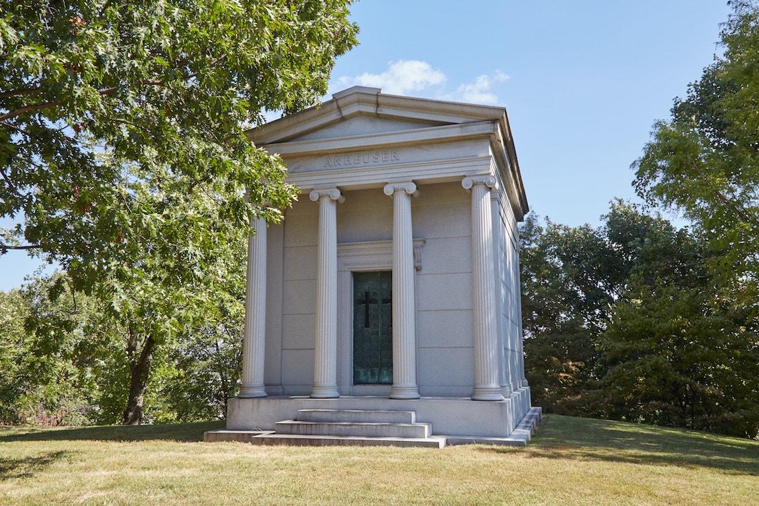 Bellefontaine Cemetery Eberhard Anheuser
