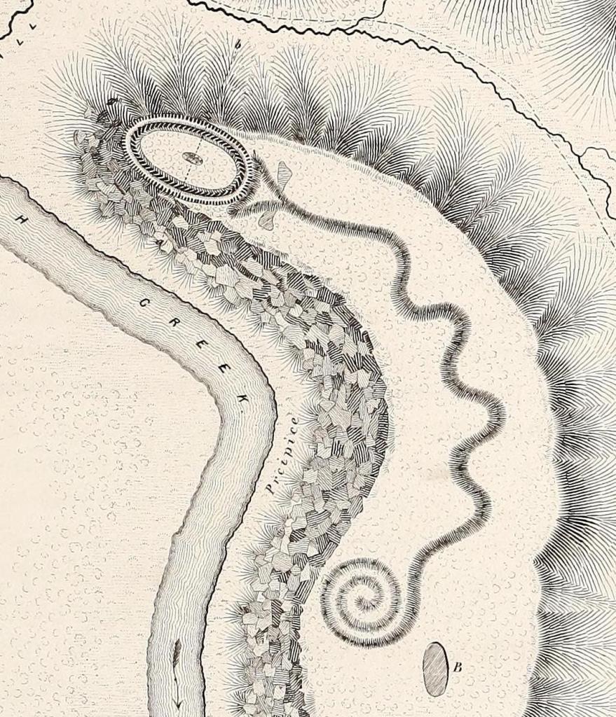 Serpent Mound Map
