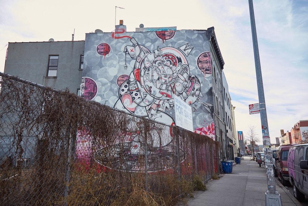 New York City Street Art Bushwick Collective