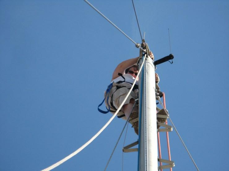 Top of RG mast
