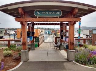 Sausalito Houseboat Dock. Photo Ray Penson jpg