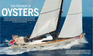 Supersail World Article on Oyster 885 LUSH