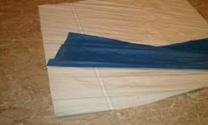 Duffel sail bag step 2