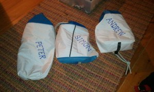 Make bags from old sails