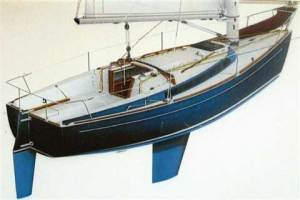 """Garry Hoyt's Freedom Yacht line pushed the """"simple-is-better"""" thinking."""