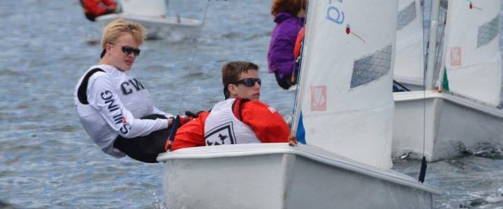 Huge Turnout as High School Teams Fought for Nationals Spot at MIT. Charles Wright Sailors Prevail