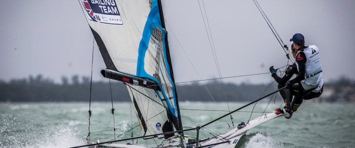 Helena Scutt Reports from the Windy World Sailing Series Miami
