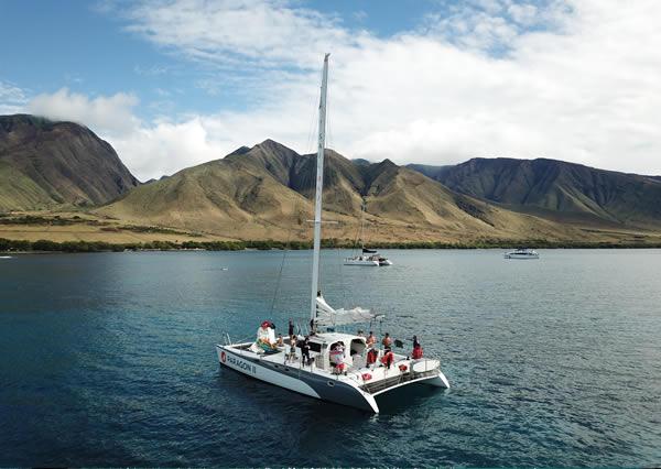Sail Maui performance charter boats