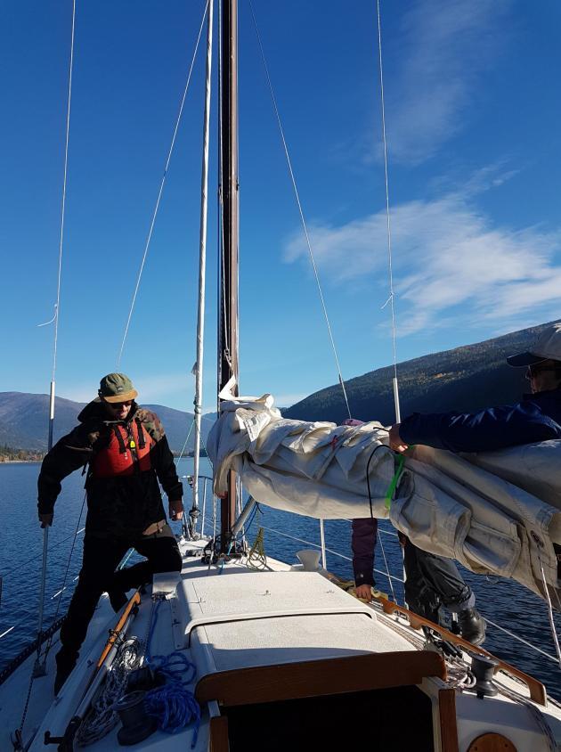 Fall sailing