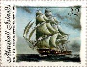 Фрегат USS-Constitution Марка Маршалловы острова