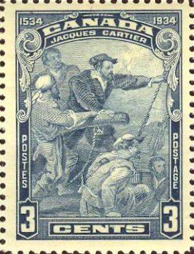 марка Канада Картье