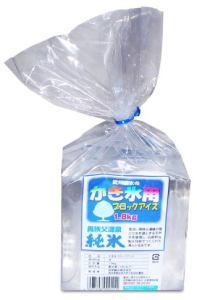 かき氷用ブロックアイス1.8kg