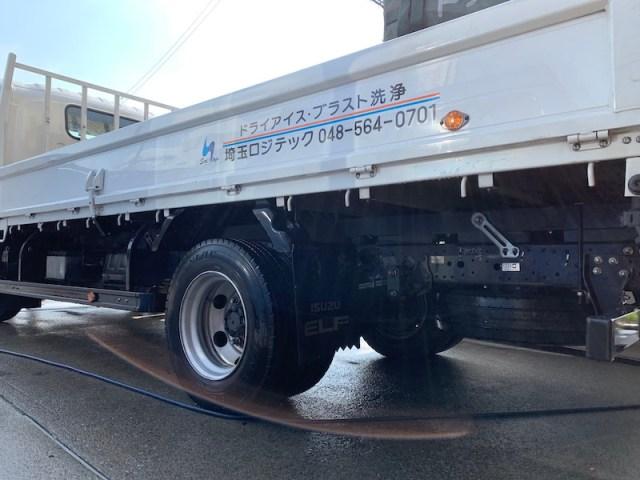 埼玉ロジテック ドライアイス事業部 トラック